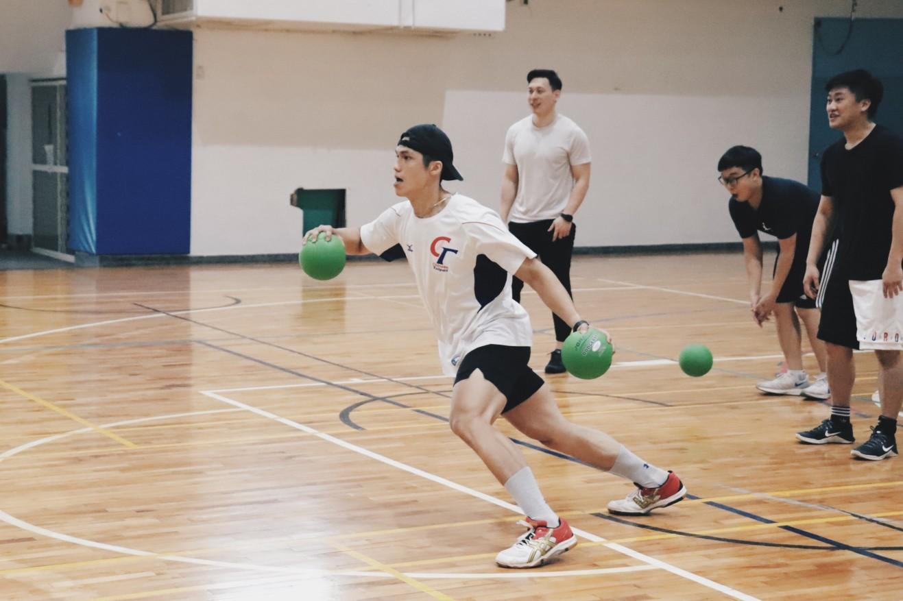 台灣美式躲避球訓練營