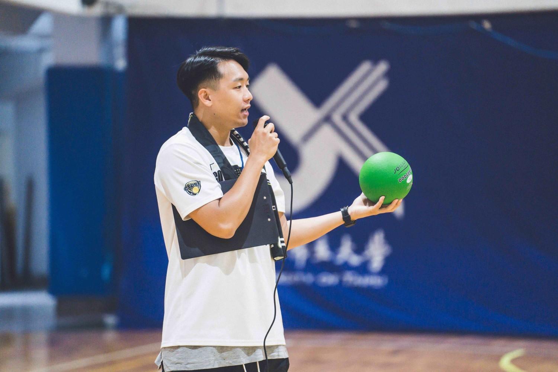 超熱血新興運動:美式躲避球-複式躲避球協會理事長李承安