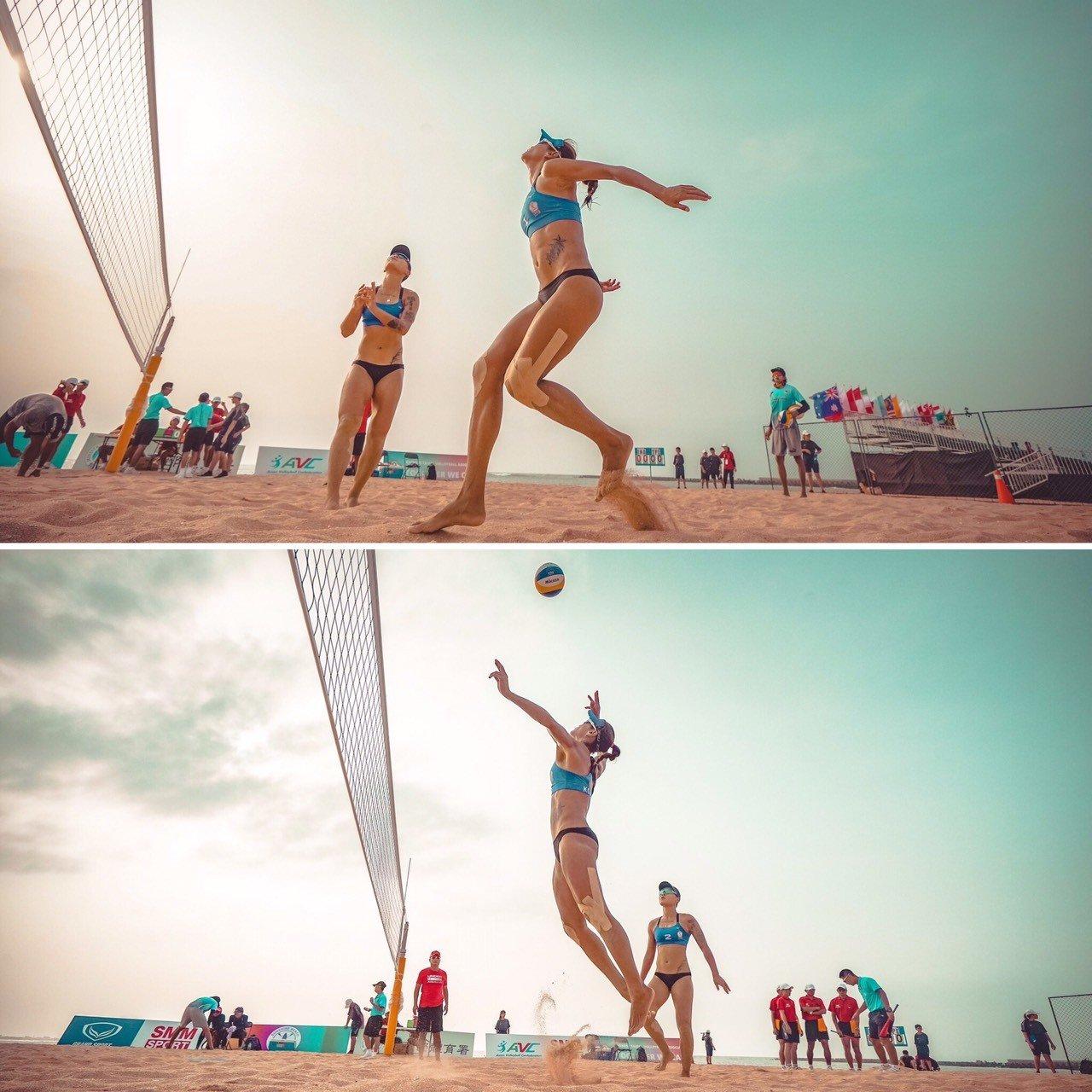 沙灘排球與隊友的默契培養非常重要