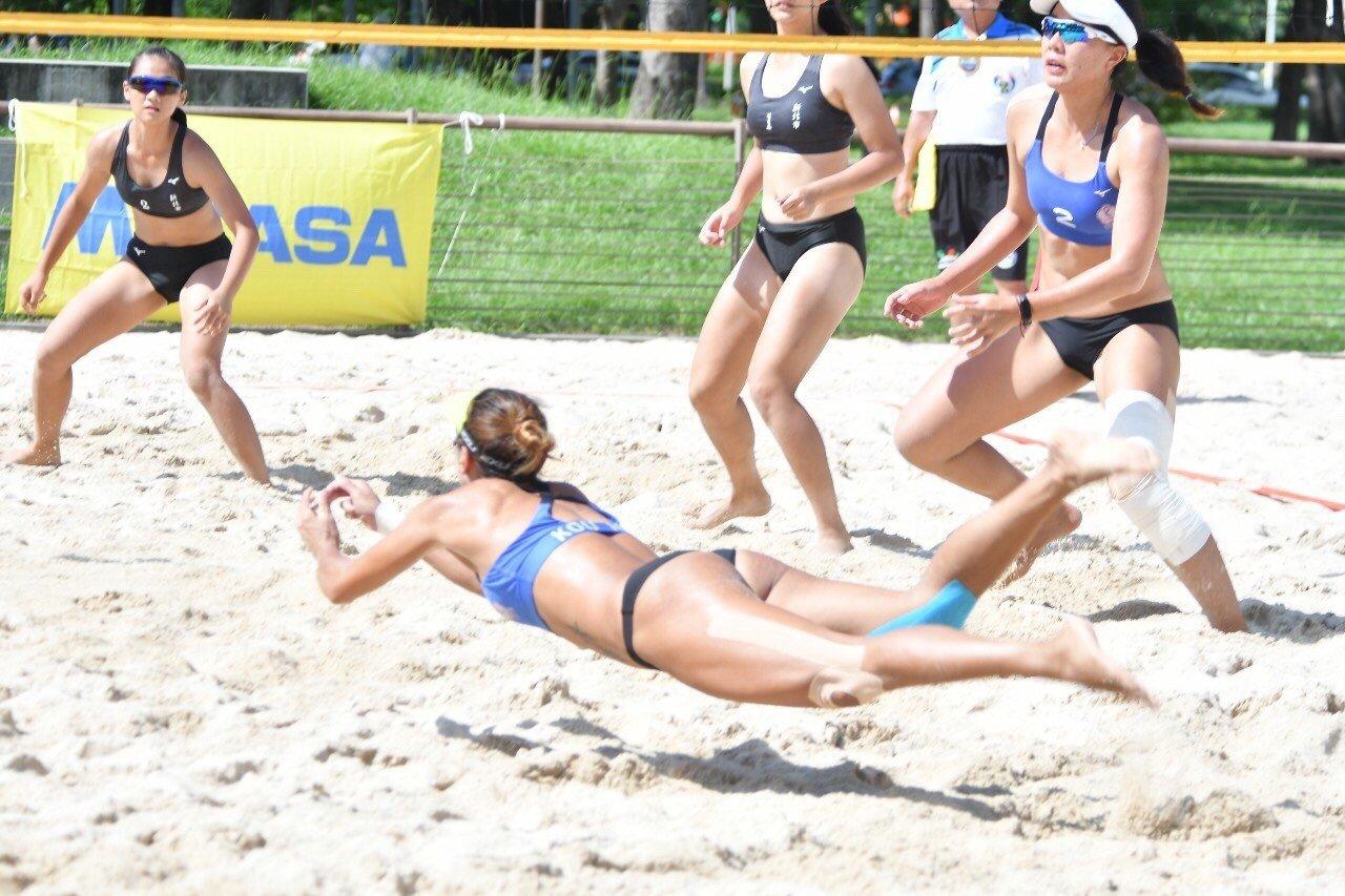 沙灘排球和室內排球,都須掌握基本功才能融會貫通