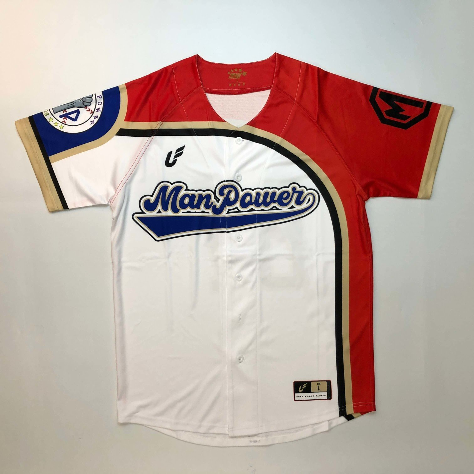 熱昇華客製化棒球服壘球服