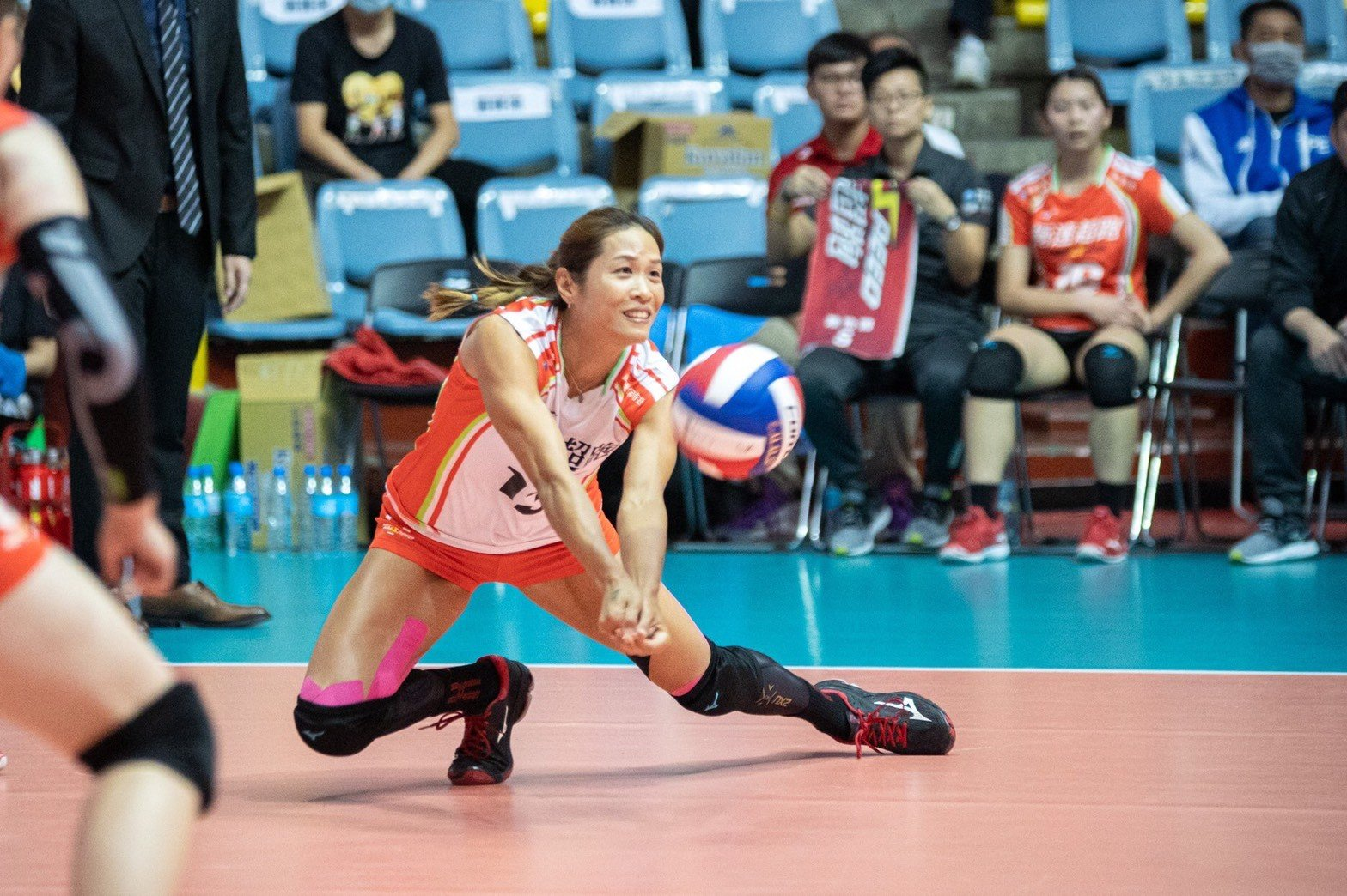 顧乃涵於極速超跑女子排球隊