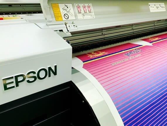 眾星實業epson熱昇華印刷設備