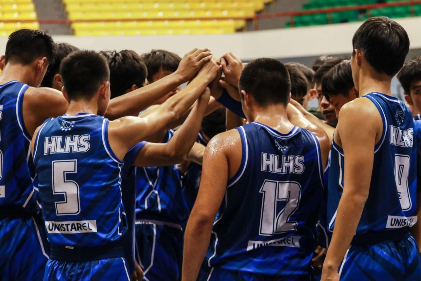 藍色炫風球衣帶好運,花蓮高中籃球隊挑戰7年障礙