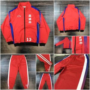 高雄小港國中客製化設計熱昇華運動外套套裝