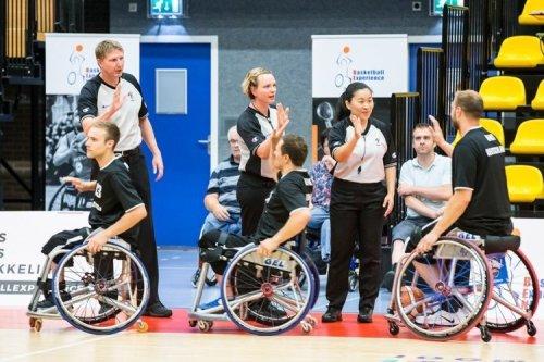 「因為喜歡,就會傾盡所有」 專訪臺灣首位女性輪椅籃球國際裁判謝淑妃
