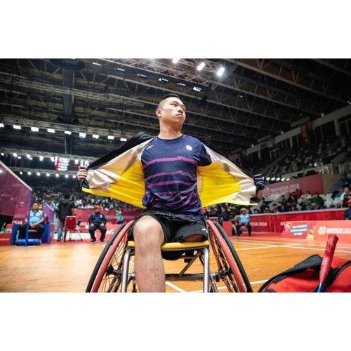 「不要讓身體的缺陷影響自己的可能性。」香港輪羽一哥 陳浩源 Daniel