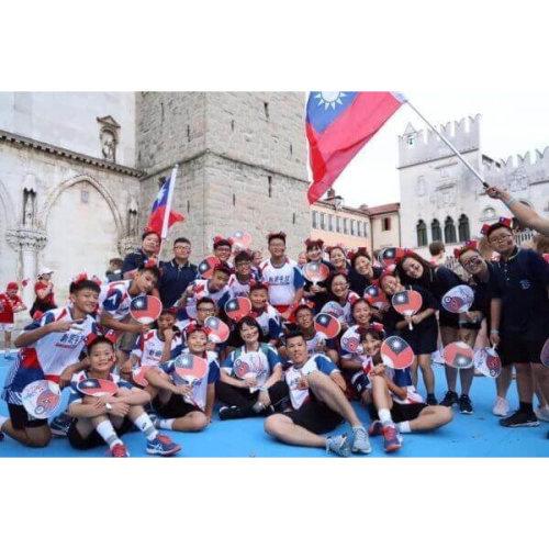 U12手球國家隊帶領台灣眾星實業進軍國際x新明國手小球隊