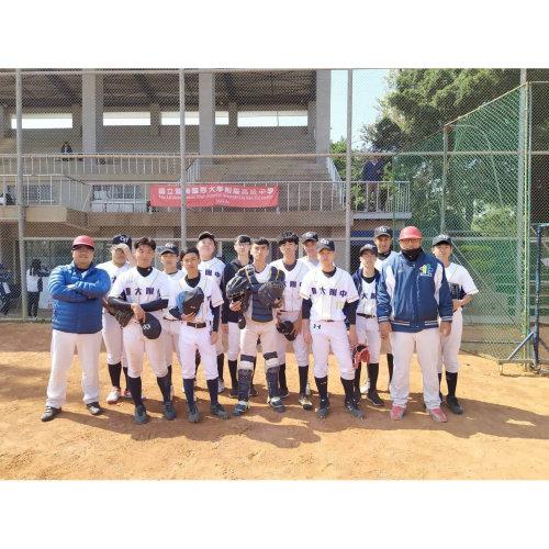暨大附中棒球隊客製化棒球服