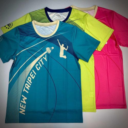 板橋國小羽球賽訂做全客製設計球衣