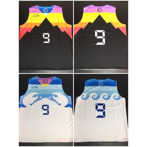瑞昱半導體客製化雙面籃球服