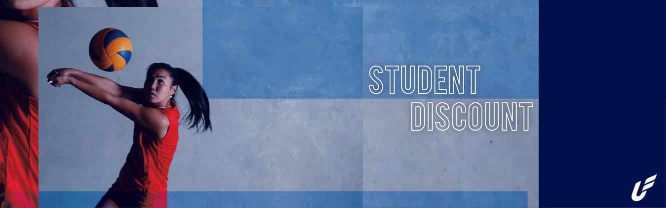 校隊&系隊方案|Student Discount